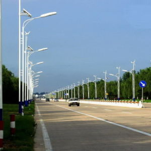 Wind Solar Hybrid LED Street Light Lamp