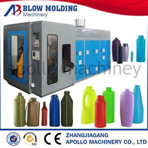 Hot Sale Automatic Small Plastic Jerry Cans Blow Moulding Machine pictures & photos
