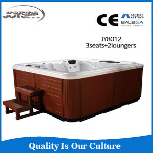 2015 New Arrival Corner Installation Balboa Whirlpool Bath Tub, Sex Massage Hot Tub Outdoor SPA pictures & photos