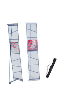 Portable Magazine Racks for Trade Shows and Other Eventstradeshow Handout Holder Zedup PRO Collapsible Literature Brochure Holder pictures & photos