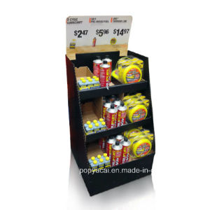 Cmyk Printed Cardboard Floor Display Corrugated Display Stand pictures & photos
