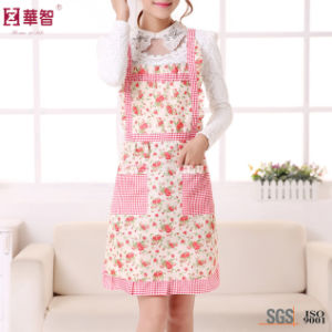 Cheap Polyester Cooking Apron pictures & photos