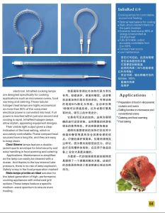 Helen Gold Costed Halogen Heating Element Lamp pictures & photos