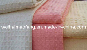 Jacquard Weave 100%Cotton Blanket (NMQ-CBB-006) pictures & photos