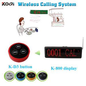 Call Bell System Made-in China Wireless Electronic Pager Pocsag Transmitter pictures & photos