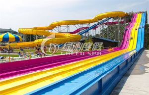 Rainbow Water Slide for Water Park pictures & photos