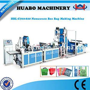 Non Woven Shopping Bag Making Machine (HBL-C 600/700/800) pictures & photos
