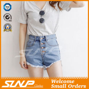 Sexy Hot Fashion Women′s Shorts Denim Jeans Clothes