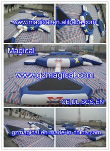 High Quality Inflatable Water Trampoline Inflatable Trampoline Combo (RA-054) pictures & photos
