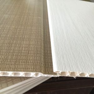 8*250mm Flat Design Lamination PVC Panel Wall Panel pictures & photos