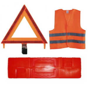 Reflective Safety Vest& Car Traffic Sign Warning Triangle (JMC-418D) pictures & photos