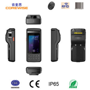 Handheld Industrial PDA with Fingerprint Reader RFID pictures & photos