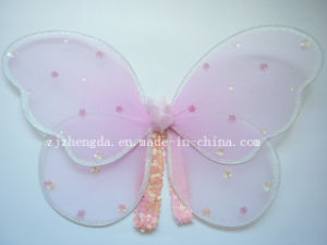 Fairy Princess Butterfly Wings Glitter Sequins