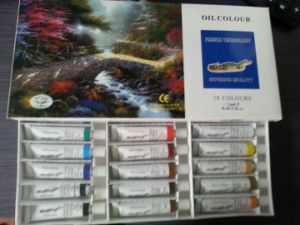 Oil Pastel Painting Painting Colour Oil Color Paint (NH07012) pictures & photos