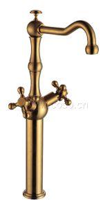 Brass Basin Mixer Basin Faucet Bk1042 pictures & photos