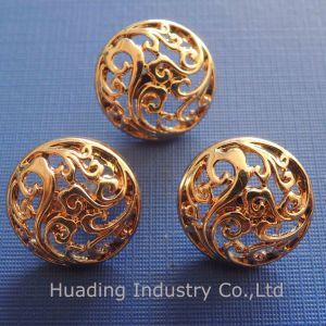 Hollowed Metal Sewing Button for Garment (HSB00096) pictures & photos