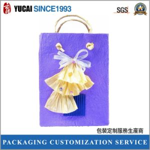 Fancy Design Ladies Shopping Bag Gift Paper Bag pictures & photos