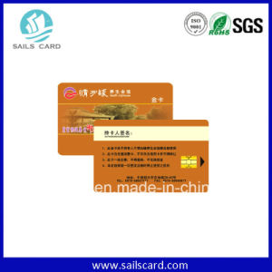 Professional Contact Chip Sle5542 Smart Card pictures & photos