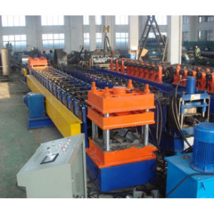 Highway Safety Mobile W Beam Guardrail Roll Forming Machine pictures & photos
