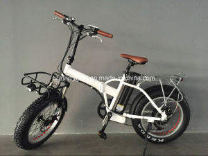 2017 Latest and Upgraded Electric Fat Tyre Folding Bike pictures & photos