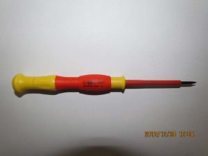 Moulded Double Colored Insulated Precision Screwdriver pictures & photos