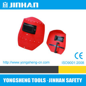 Jinhan Red Steel Paper Welding Mask (M-4001)