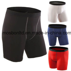 Men′s Sports Gym Compression Shorts with Good Quality pictures & photos