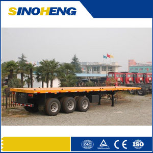 Exported Djibouti 40ft Container Semi Trailer pictures & photos