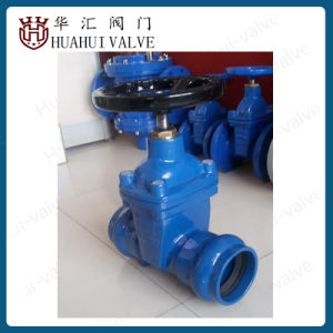 Socket End Resilient Seated Gate Valve for PE/PVC Tube