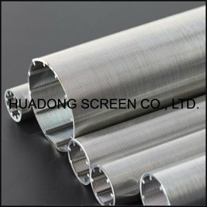 Self Cleaning Wedge Wire Screen Filter Roundness Profile Wire Welded Candle Filter China Manufacturer pictures & photos