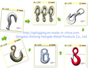 G80 Stainless Steel Eye Grab Hook with Hot /Electro Galavning pictures & photos