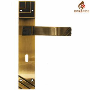 High Quality Full Zinc Door Lock Handle-039 pictures & photos