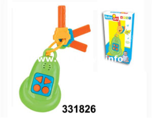 2017 Plastic Toy Battery Operated Key with Music&Light (331826) pictures & photos