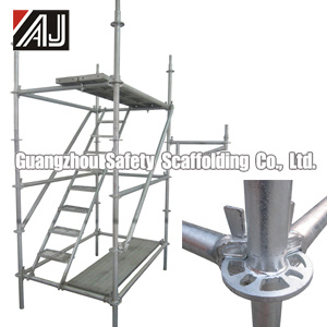 Galvanized Steel Ringlock Scaffold for Building Construction, Guangzhou Manufacturer pictures & photos