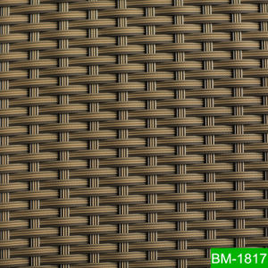 Rattan Weaving Material Mix Color Customized Outdoor Furniture Making  Material