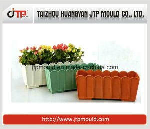 Square Shape Without Tray Plastic Flower Pot Mould pictures & photos