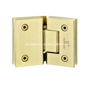 (KTG-1004) PVD -135 Degree Glass Door Hinge/Bathroom Door Hinge pictures & photos