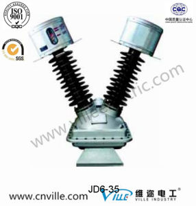 Jd6-35 Type Outdoor Inductive Voltage Transformers pictures & photos