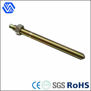 Carbon Steel Color Zinc Plated Anchor Rod with Hex Nut pictures & photos