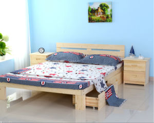 Solid Wood Kids Bed Double Bed Single Bed (M-X1101) pictures & photos