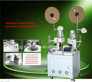 Fully Automatic Wire Cable Terminal Crimping Machine pictures & photos