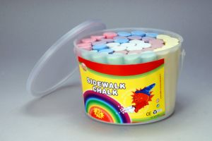 37PCS Sidewalk Chalk with Transparency PP Bucket pictures & photos