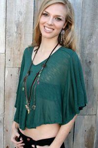 Women Fashion Viscose T-Shirt Top (FC000193) pictures & photos