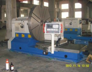 Precision CNC Lathe, Heavy Duty Facing Lathe, Metal Lathe pictures & photos