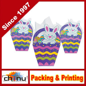 Paper Easter Basket-Shaped Gift Bags (210231) pictures & photos