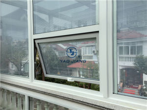PVC Swing Window with Shutter Inside (Veka AD70)