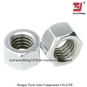 Machinery Car Hydraulic Fitting Hex Nut