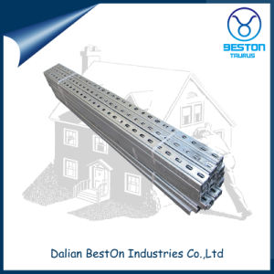 Hot DIP Galvanized 1-5/8 Slotted Strut Channel pictures & photos