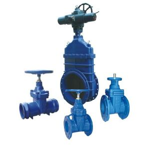 """Non-Rising Stem Resilient Soft Seated Gate Valve with DIN3352-F4""""O"""" Type"""