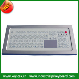 IP68 Membrane Anti-Microbial Keyboard with Touchpad